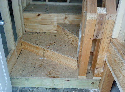 Winder Stairs  Finish With A Handrail