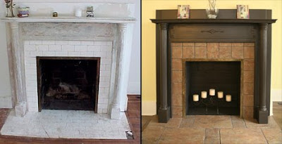 When we were done it was one of my favorite parts of the house, even though  the fireplace wasn't functional. It was still a nice centerpiece to the  living ... - Inspired Remodeling & Tile Bloomington, Indiana & Surrounding