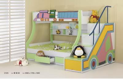Chambre de décoration et lit pour enfant garçon de ...