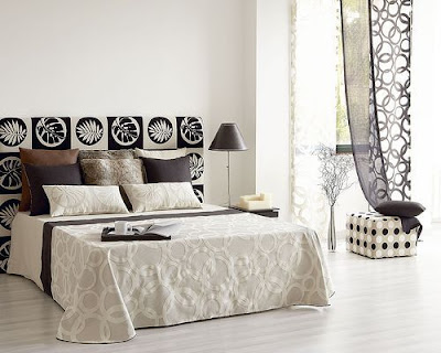 bedroom ideas in black n white inspired