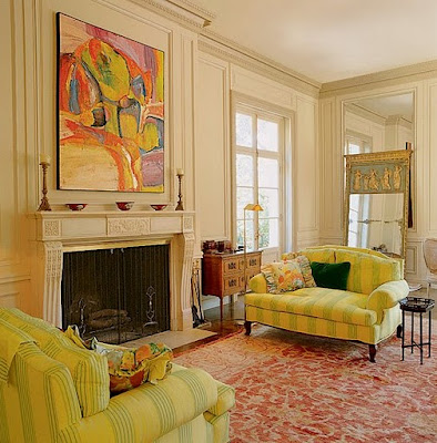 Fashion girls living room ideas in yellow for Yellow green living room ideas