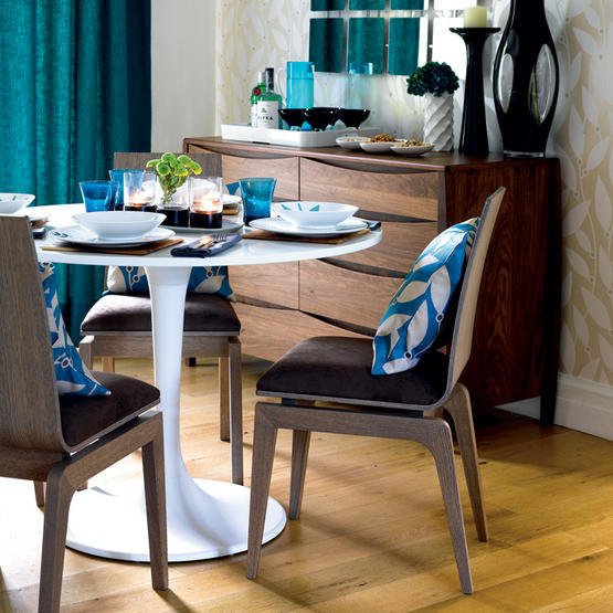 7 retro designs for home and dining roominterior for Retro dining room ideas