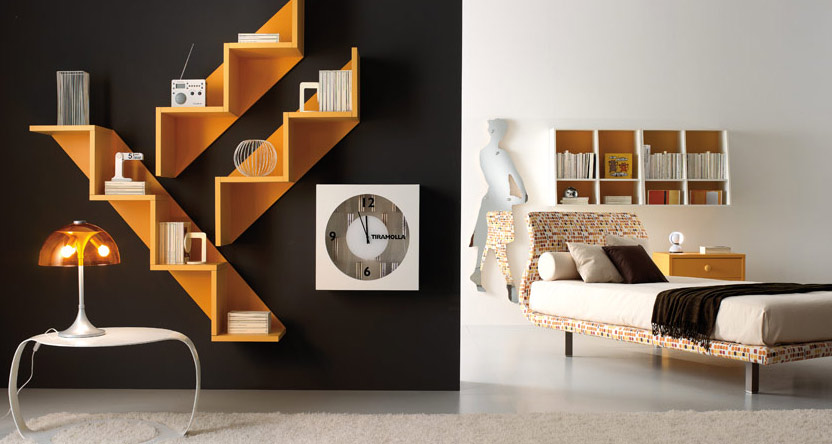 Cool Shelves for Teens Rooms