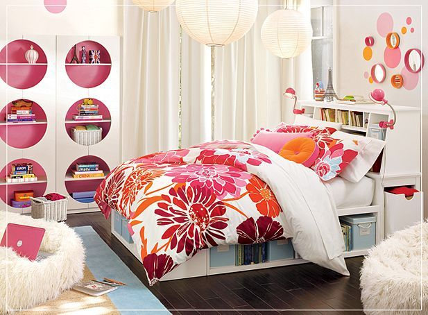 Teen bedroom designs for girls interior decorating home for Pink teenage bedroom designs