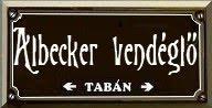 ALBECKER VENDÉGLŐ