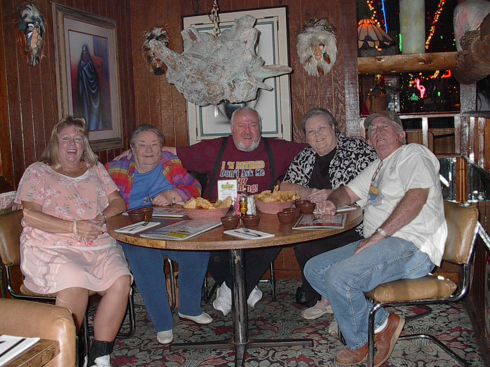 Here We Are At A Wonderful Mexican Restaurant Campo Verde There S Me Georgia Frady Skip Summers Kay Brewer And Jerry Cope Had Great Evening