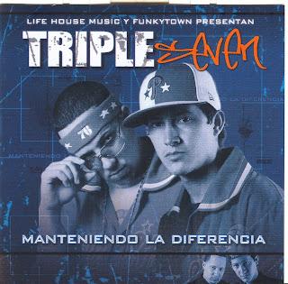 Descargar TRIPLE SEVEN - MANTENIENDO LA DIFERENCIA Disco completo
