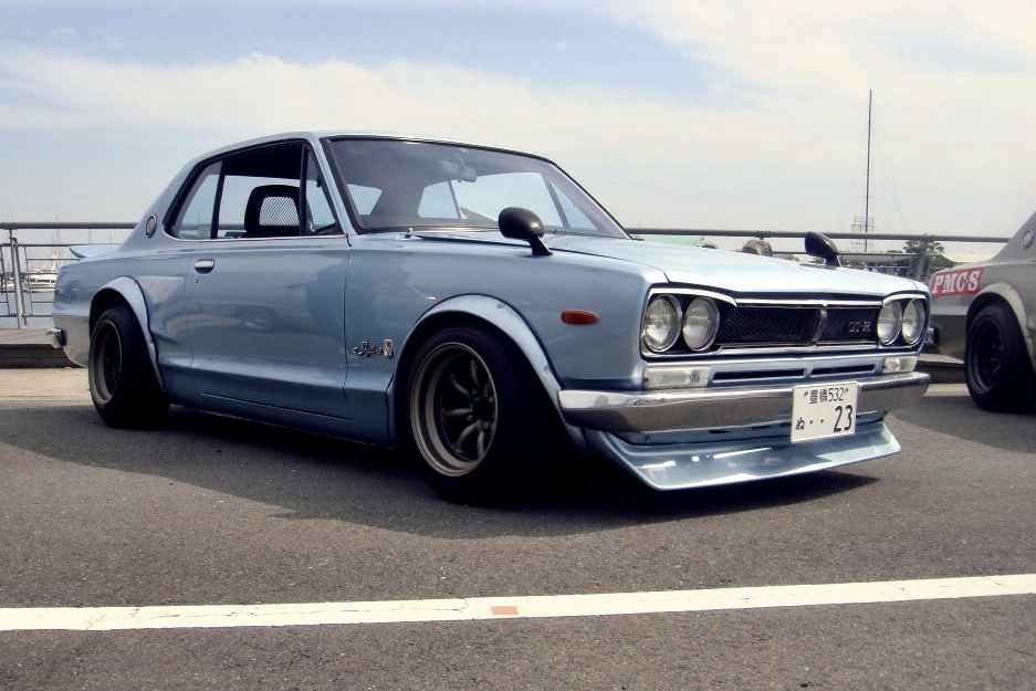 Retro Spirit - Old Car Style: Nissan Skyline KGC10
