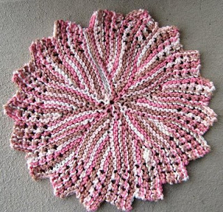 Free Knitted Round Dishcloth Patterns : FREE CIRCULAR CROCHET DISHCLOTH PATTERNS Lena Patterns