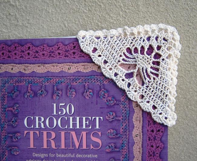 Knitting Pattern For A Book Marker : Annie Bebops Coloring Book: Fatties Luggage Tag & Crocheted Bookmark