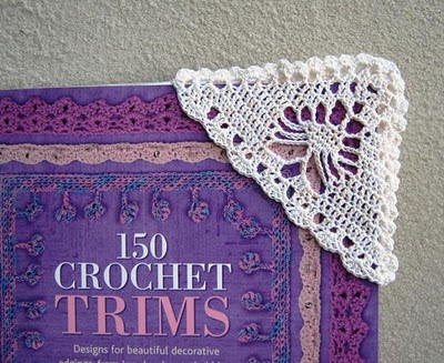 Crocheting Corners : Annie Bebops Coloring Book: Fatties Luggage Tag & Crocheted Bookmark