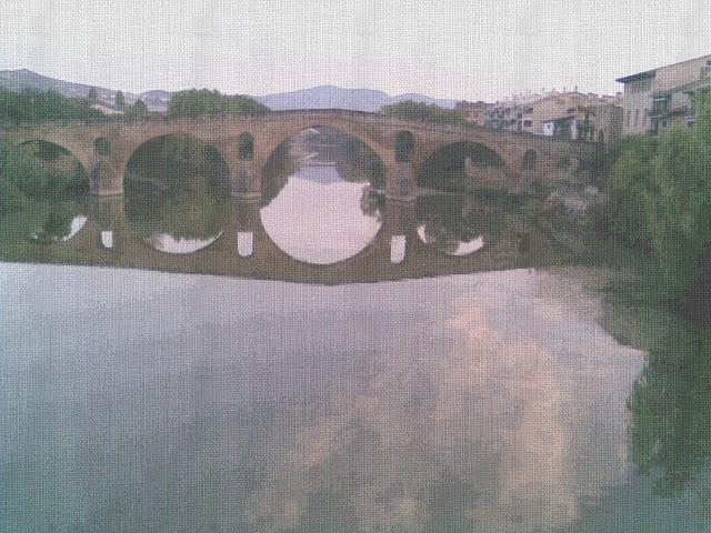 puente la reina cruce de caminos