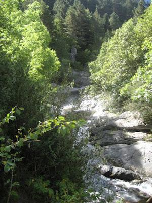 arroyo tributario del rio Aragón