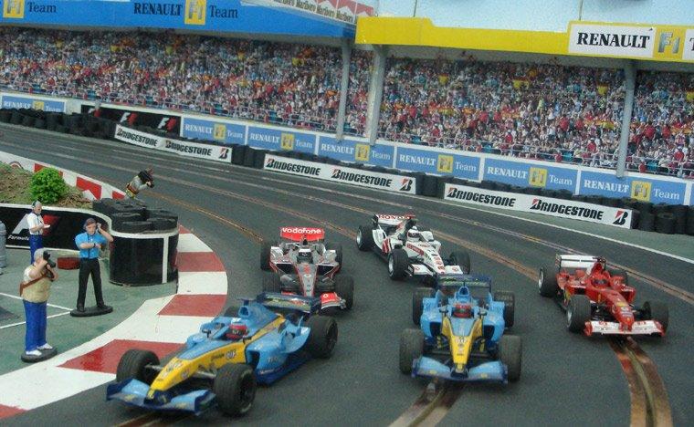 Circuito Fernando Alonso : Circuito de slot fernando alonso slotware by kiku