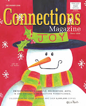 Cover Art by Liz Revit - December 2009 Connections Magazine