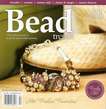 Liz Revit in Bead Trends July 2009