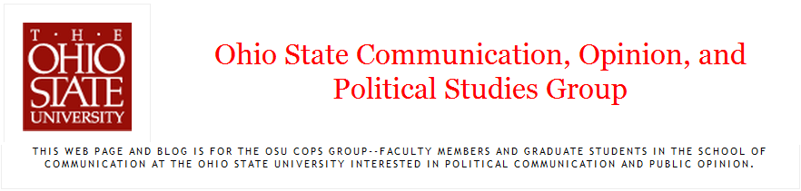 ohio state communication opinion and political studies group osu