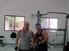 with the Thai Hulk...body building champion