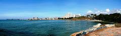Vista de La Bahia de Punta Moreno-El Morro