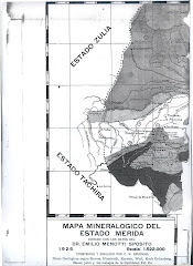 Mapa Mineralógico de Mérida