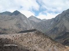 Morrena lateral del Valle Grande del río Mucujún