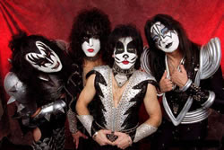 Show da Banda Kiss no Brasil em 2009