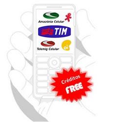 Gerador de creditos celular gratis