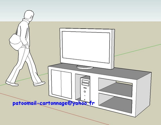 meuble tv avec rangement pc – Artzein.com