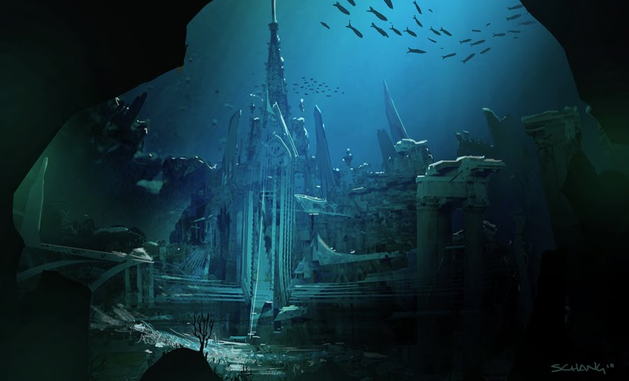 Real Underwater Ruins ChangDraws: Droid Plan...