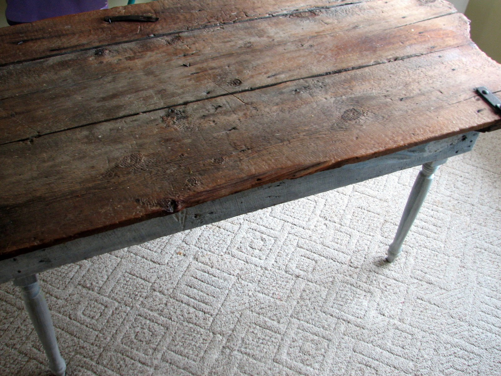 Old Barn Wood Kitchen Table