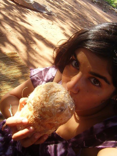 eu e a agua de coco