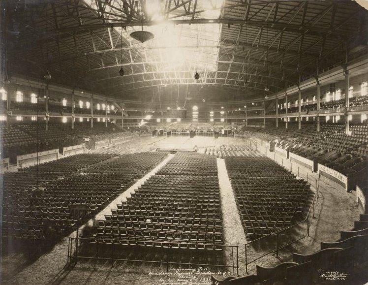 New York History Geschichte Madison Square Garden Ii Interior