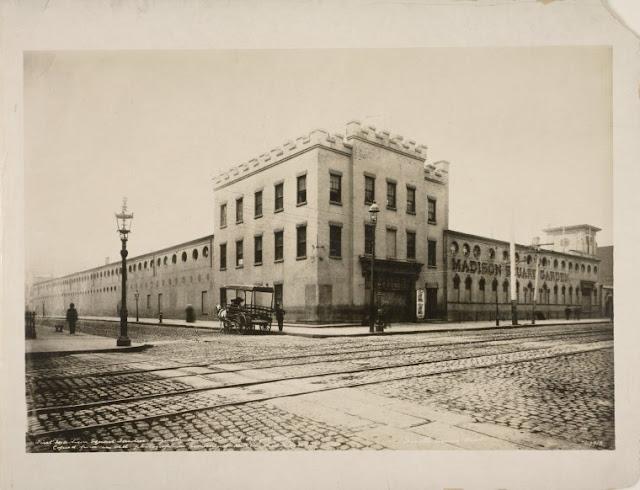 New York History Geschichte The First Madison Square Garden 1879 1889