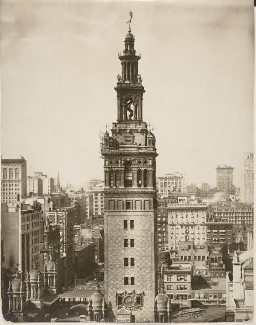 New York History Geschichte Madison Square Garden Ii The Tower