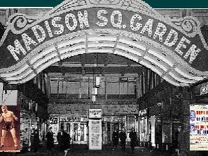 New York History Geschichte Madison Square Garden Iii 1925 1968