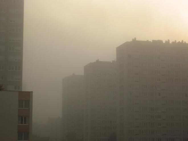Dans le piémont aussi il y a de la brume