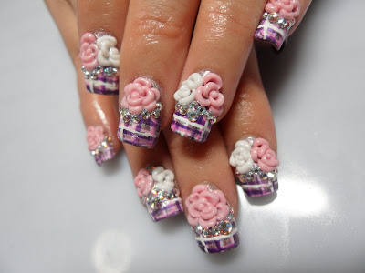 The Beauty and Latest of 3D Nail Art-3