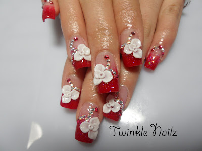 The Beauty and Latest of 3D Nail Art-2