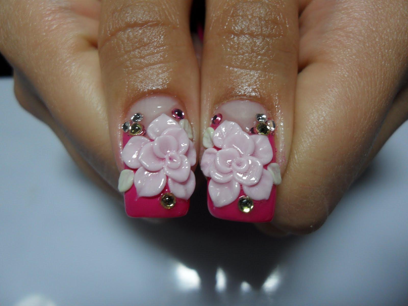 3d acrylic nails gel overlay by twinkel 3d acrylic nails
