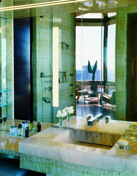 Most Expensive Hotel Rooms Four Seasons Ty Warner Penthouse suite New York