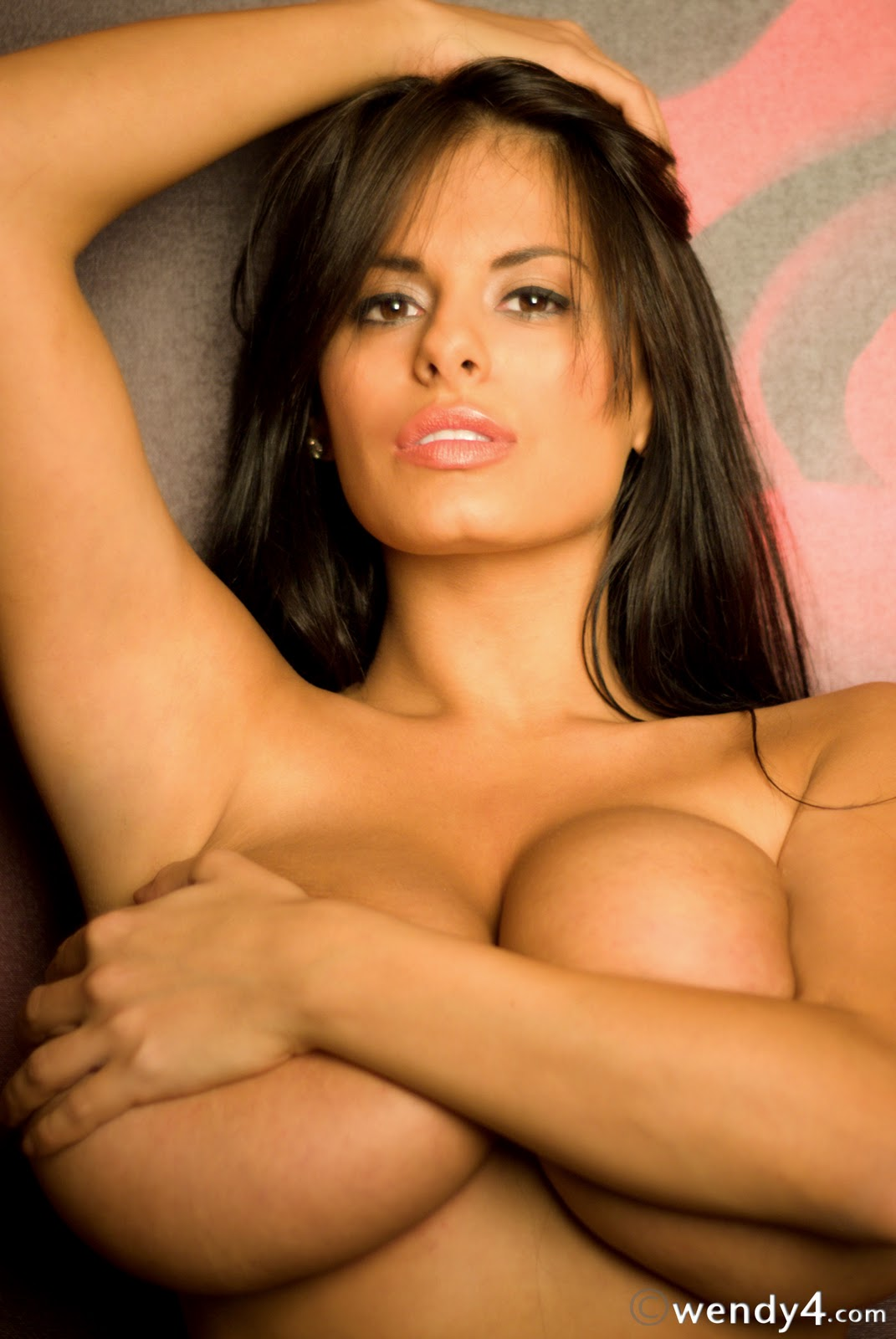 Wendy Fiore Topless Naked Sey Hot Big Boobs