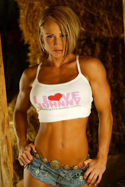 Sexy Muscle Girls
