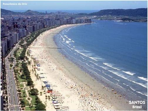 Morar em Santos = qualidade de vida!
