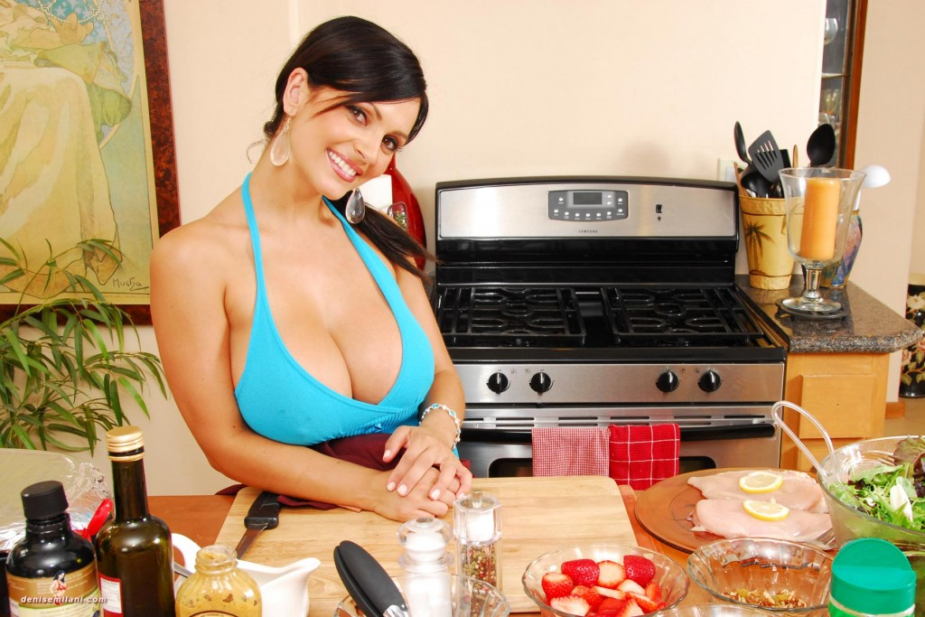Denise Milani Strawberries