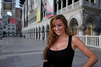 Jordan Carver in Celebrity Tour Moment Photo Shoot Session at Las Vegas