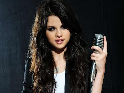 Selena Gomez singing in gorgeous photo shoot