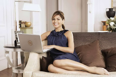 Eva Mendes in Sweet Modern Home Photo Shoot Session