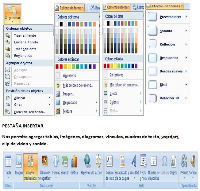 Informatica organizar insertar y dise o for Diseno arquitectonico informatica
