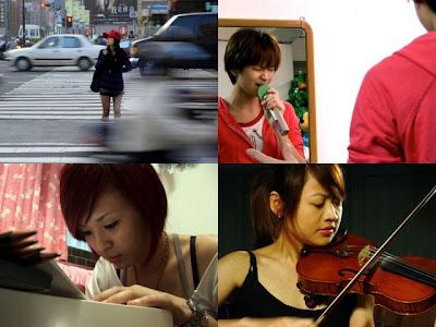 《星光傳奇》劇照剪輯:左上,黃美珍;右上,曾沛慈;左下,魏如昀;右下,林宜融