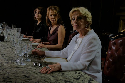 《臉》劇照:芬妮亞當 Fanny Ardant、珍妮摩露 Jeanne Moreau、娜坦麗貝葉 Nathalie Baye
